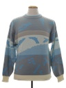 Mens Totally 80s Cosby Style Ski Sweater