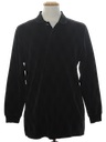 Mens Velour Knit Shirt