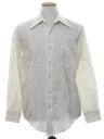 Mens Print Disco Style Shirt