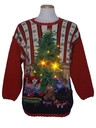 Unisex Amber Lightup Ugly Christmas Sweater