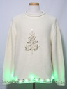 Unisex Green Lightup Ugly Christmas Sweater