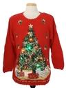 Unisex Amber Lightup Ugly Christmas Sweater