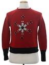 Womens or Girls Mod Minimalist Ugly Christmas Sweater