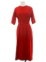 Womens Wool Dress