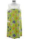 Womens Mod Pow Flower Dress