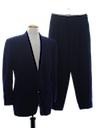 Mens Mod Tuxedo Suit