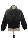 Mens Totally 80s Leather Motorcycle Jacket