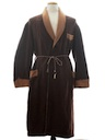 Mens Smoking Jacket Style Robe
