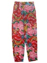 Womens Wicked 90s Print Baggy Pants
