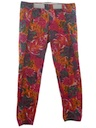 Unisex Totally 80s Baggy Print Pants