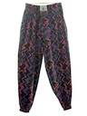 Mens Totally 80s Baggy Print Pants