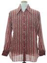 Mens Mod Hippie Shirt