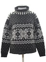 Womens Wicked 90s Snowflake Ski Sweater