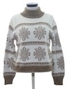 Womens Totally 80s Snowflake Ski Sweater