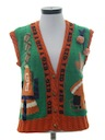 Womens Football Sweater Vest
