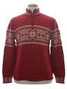 Unisex Snowflake Ski Sweater