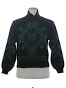 Unisex Totally 80s Snowflake Ski Sweater