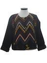 Womens Wicked 90s Guatemalan Style Hippie Jacket