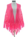 Womens Hand Crochet Cape Jacket