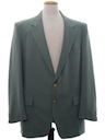 Mens Sharkskin Blazer Sport Coat Jacket