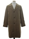 Mens Trench Overcoat Jacket