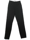 Mens Mod Flat Front Tapered Slacks Pants