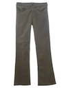 Mens Jeans-Cut Flared Pants