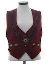Womens Wool Western Style Vest