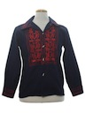Mens Denim Hippie Shirt