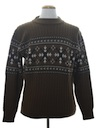 Mens Pullover Ski Sweater