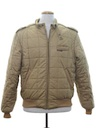 Mens Totally 80s Quilted Members Only Jacket