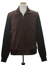 Mens Suede Leather Sweater