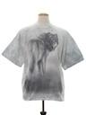 Unisex Animal Print Wolf T-Shirt