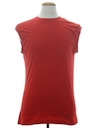 Unisex Plain Solid Muscle T-Shirt