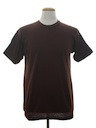 Unisex Plain Solid T-Shirt