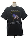 Unisex Cheesy Patriotic Travel T-Shirt