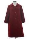 Womens Mod Wool Duster or Wedge Style Coat Jacket