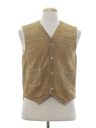 Mens Hippie Style Leather Vest
