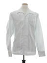 Mens Solid Disco Style Shirt