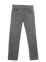 Mens Stone Washed Jeans Pants