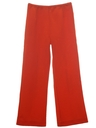 Womens Knit Flare Leg Pants