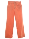 Womens Jeans Cut Flare Leg Pants