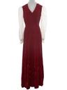 Womens Hippie Style Velvet Prom Maxi Dress