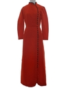 Womens Asian Inspired Knit HIppie Maxi Dress