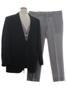 Mens Three Piece Combo Suit