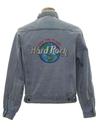 Mens Hard Rock Cafe Denim Jacket