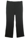 Mens Flat Front Mod Slacks Pants