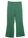 Womens Flare Leg Knit Leisure Pants