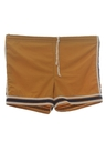 Mens Mod Gym Style Swim Shorts