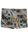 Mens Totally 80s Print Swim Shorts